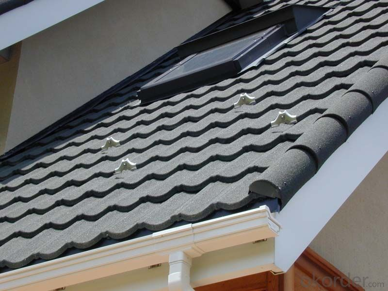 High Strength Shock Resistant Metal Roof Tiles