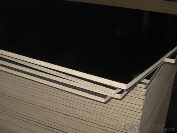 1220mmx2440mm (4ftx8ft) Construction Plywood/Black Brown Shuttering Film Faced Plywood