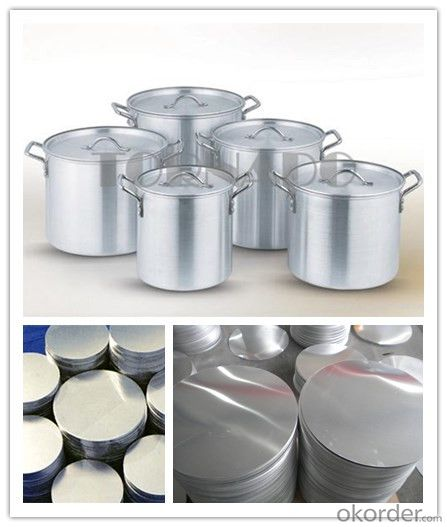 Aluminum Circle for Saucepan hot rolled products