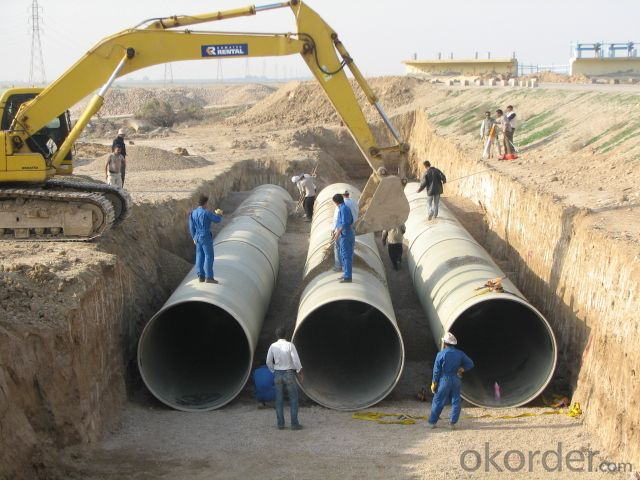 FRP/GRP Pipe Used for Oil & Offshore Field