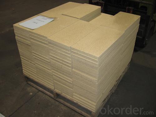 Vermiculite Fire Bricks Stove Fire Bricks Cut to Customer Sizes Made to Measure