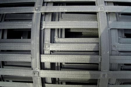 Steel Plastic Geogrid Polyester Geogrid
