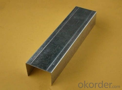 Galvanized Steel Profile/100 Stud for Dry Wall