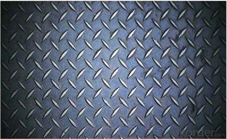 Hot Rolled Steel Chequered Skid Resistance