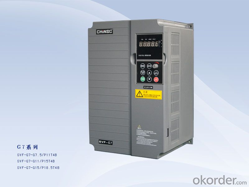 7.5kw 380v 3 phase variable frequency drive ac motor controller