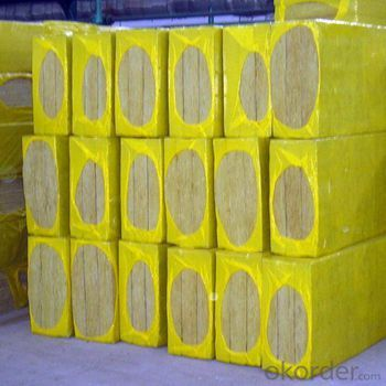 Fireproof Rock Wool Insulation 50mm Board