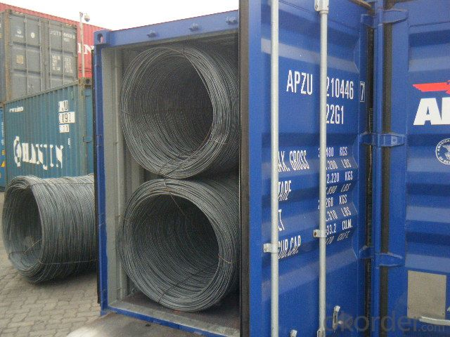 Prime Hot Rolled Steel Wire Rod in Coils