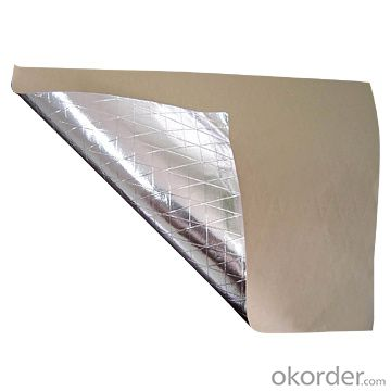 Single air Bubble with Aluminum Foil Facing and Woven Fabric