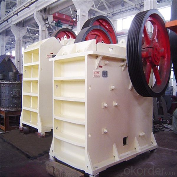 China HJ Series High Efficiency Jaw Crusher 2015
