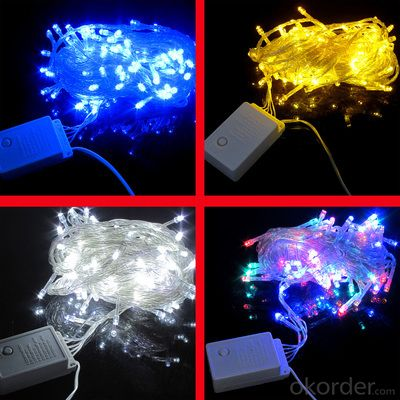 IP44 Wedding Party Festival Christmas Decoration light Solar Powered LED String Lights