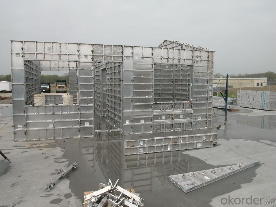 WHOLE ALUMINUM FORMWORK SYSTEM WITH HIGH QUALITY