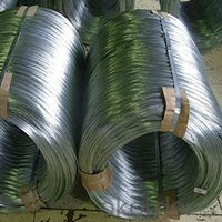 10 to 15g Zinc Coating and 35kg Tensile Strength Iron Wire Electro Galvanized Iron Wire