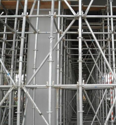 Ring-lock Scaffolding Reliable for Q345 Grade Steel Material