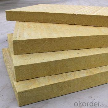 Fireproof Rockwool Insulation 50mm Rock Wool Board