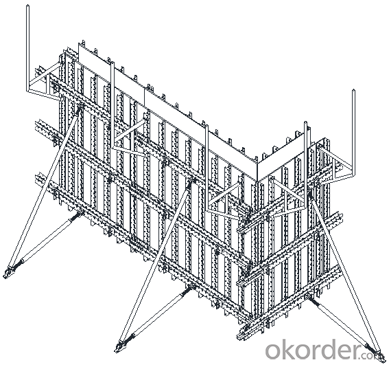 Steel Beam Formwork with House Making with Lower Cost