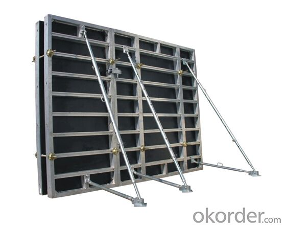 Aluminum-Frame Formwork with Reliable Performances