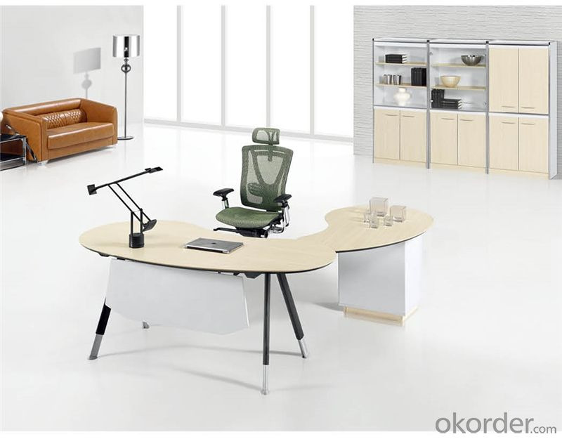 Office Desk with MFC Material for Managers