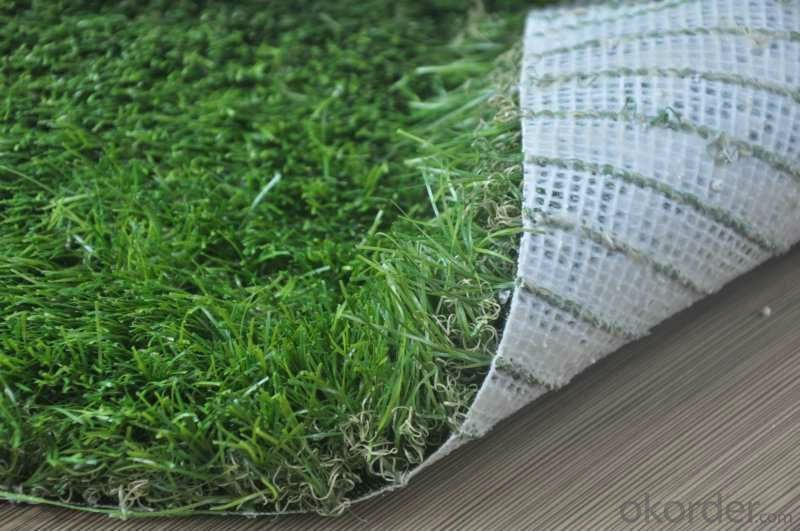 Artificial Turf in Silica Sand for Golf and Football Field