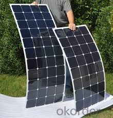 Highest Efficiency Solar Panel 20w 50w 100W 120W Flexible Solar Panels, Boat Flexible Solar Panels