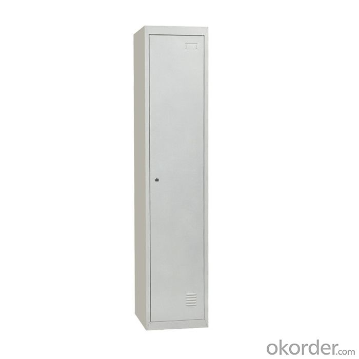 Steel Single Door Locker Labor School Use Changing Room Metal Cabinet Cmax-SL01-001