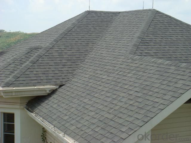 3-tab Dimensional Asphalt Shingles for Roofing