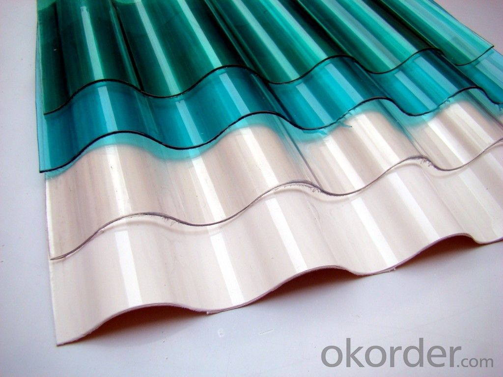 Polycarbonate Wave Panel,PC Sunshine Sheet