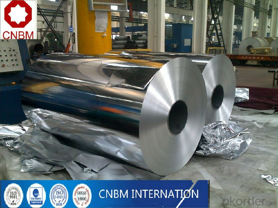 Aluminum foil from china for food package/ laminated /HHF