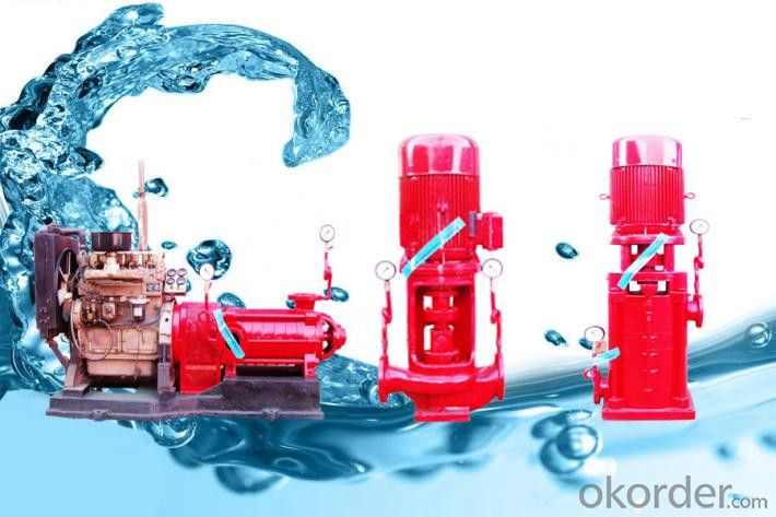 Fire Pump Cast Iron High Flow  High Quality