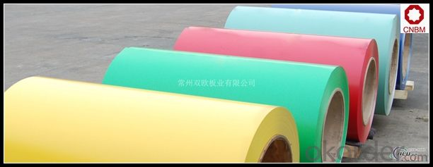 Color Coated Aluminium Coils for Aluminum Roller Shutter 0.15 to 1.20mm
