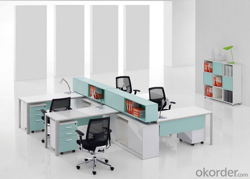 Office Furniture Work Station for 4 People