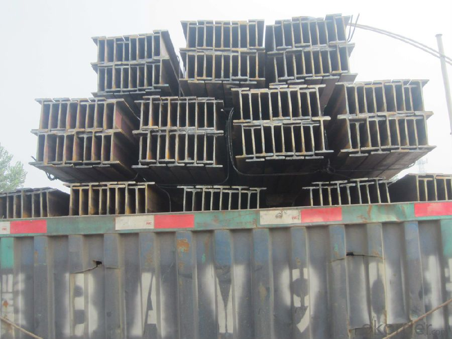 H Beam Hot Rolled with Good Quality and Competitive Prices for Sale