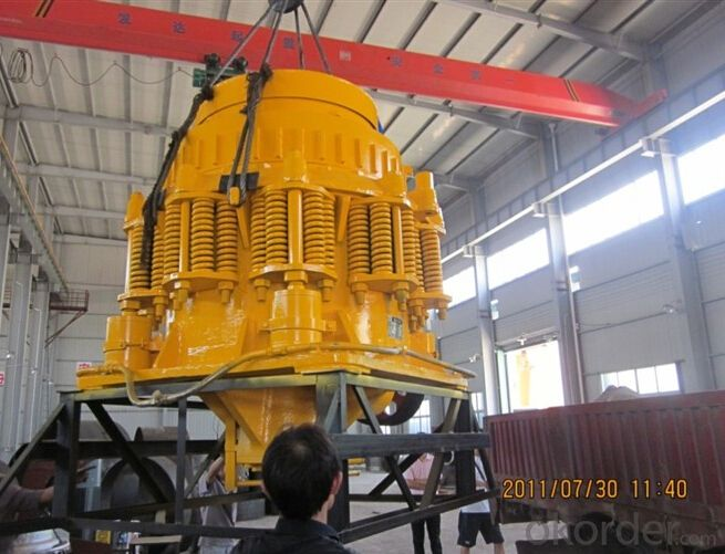 Compound Cone Crusher for Hard Rock Breaking