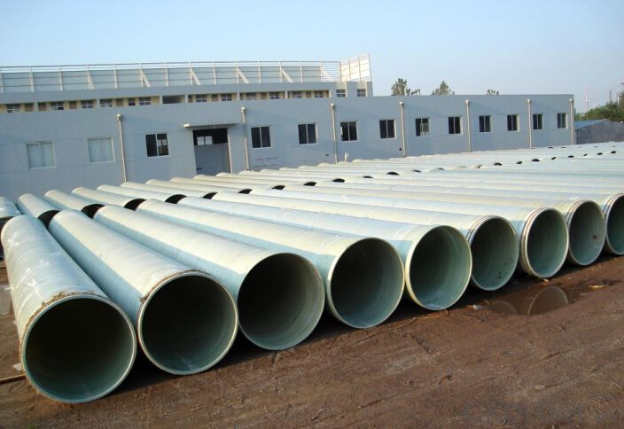 GRP  Pipe/High Pressure FRP Pipe Round Tubes