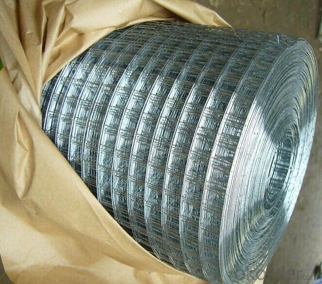 Welded Wire Mesh, Galvanized, PVC Coated, Ral Color