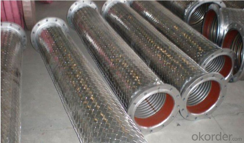 Stainless Steel Braid Hose with Outside Fittings