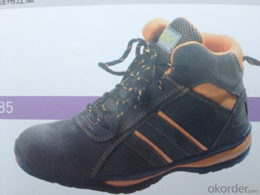 Safety Shoe with Steel Toe And Good Year Welt Construction