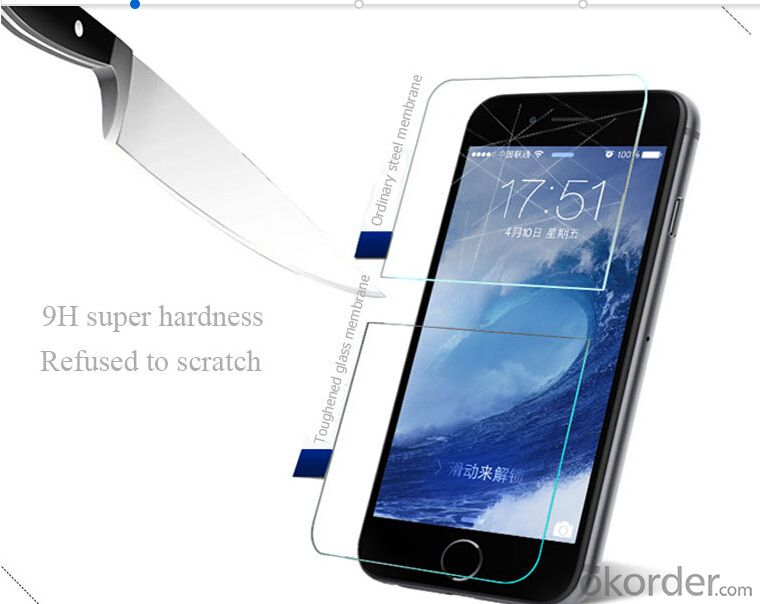 Tempered Glass Screen Protector for Apple Iphone 6Plus