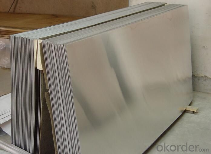 1070 H18 Aluminum Mirror Sheets In Silver For Reflective Chimney
