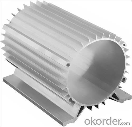 Aluminium Extrusion Profiles For Motor Cylinder Shell