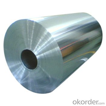 Aluminium Jumbo Foil Roll Raw Material For Flexible Packaging