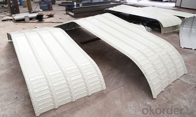 construction curving eave Roof Panel Forming Machine