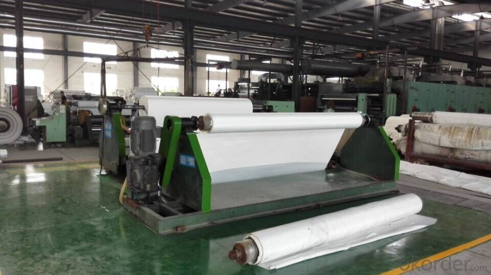 Diamond Pattern PVC Transmission Conveyor Belt In Industrial Use