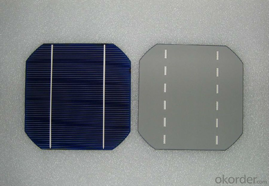 4.61W 3 BB A Grade Mono Solar Cell156mm with19.3-19.4% Efficiency approved by CE TUV