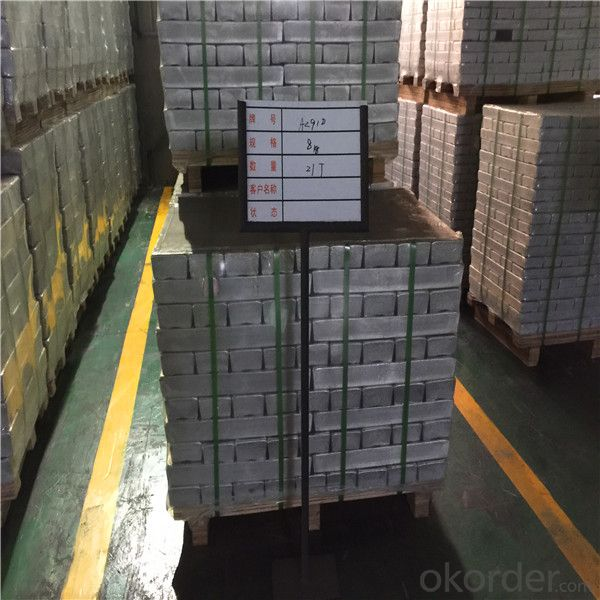 Mg9992 Magnesium Alloy Ingot Plate Good Quality Ingot