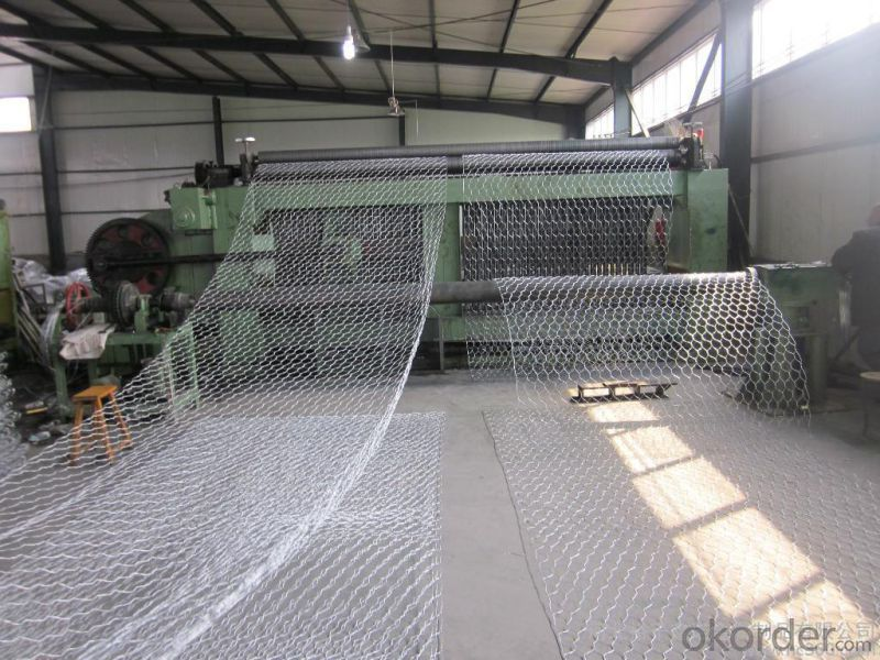 First Class Gabion Box with ISO Certified (Woven type-JH332)