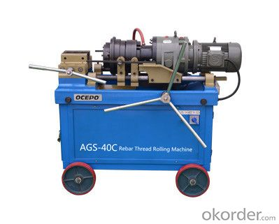 Rebar Taper and Parallel Threading Machine / Threading machine AGS-40