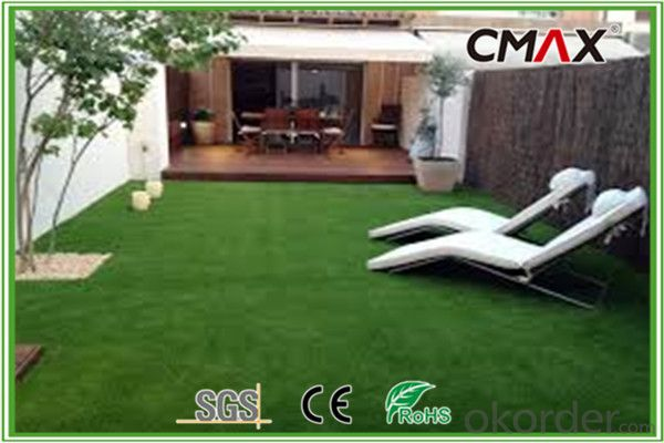 35mm Artificial Grass UV Resistance Garden Decorative Balcony