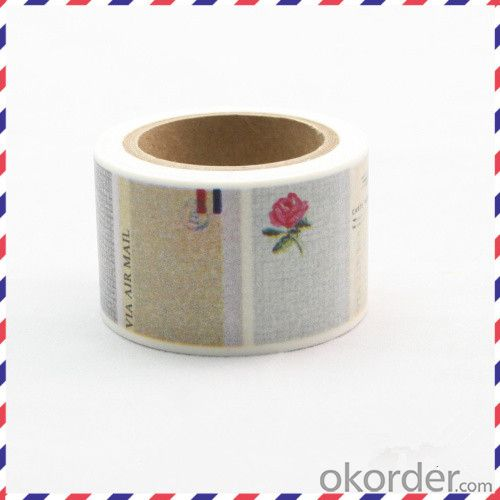 Decoritive Tape /Custom Printer Tape/Rice Paper Tape