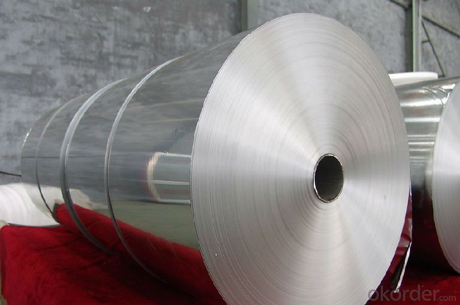 Soft Packaging Aluminum Foil Of Alloy 8011 1235