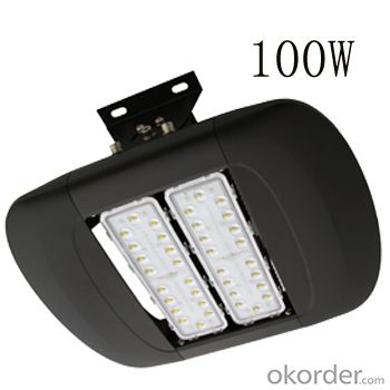 100LM/W 100W LED tunnel light IP68 high power outdoor lighting